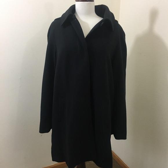 Kristen Blake Black Coat w/Detachable Hood